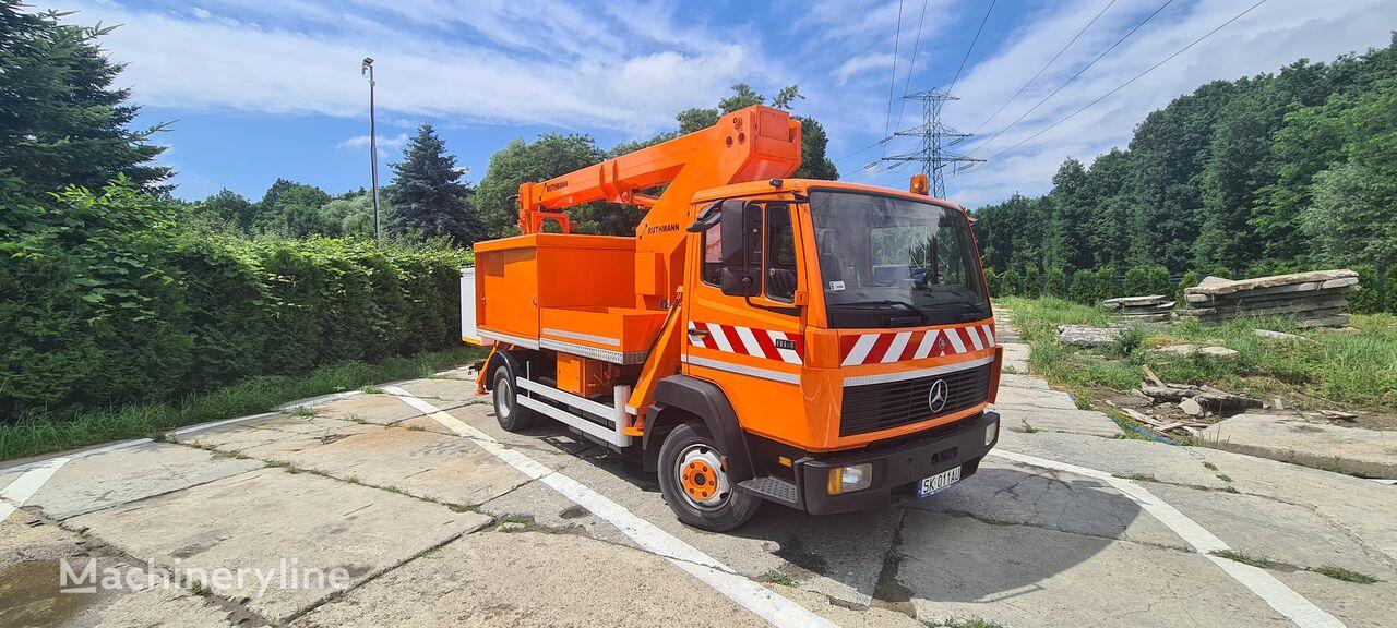 MERCEDES-BENZ 814 RUTHMANN T145 kontakt +48 506 196 568 bucket truck
