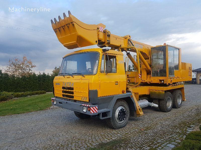 TATRA UDS 114 kontakt +48 506196 568 telescopic boom excavator