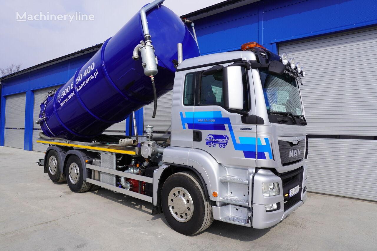MAN TGS 26.400  vacuum truck