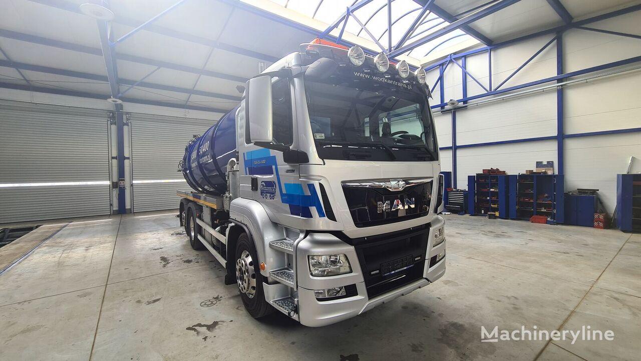 MAN TGS 26.500 vacuum truck