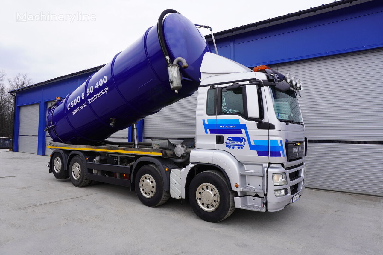 MAN TGS 35.400   vacuum truck