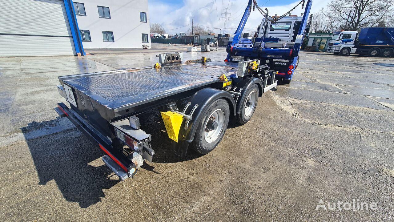 HÜFFERMANN HTM 14.40 P kontener mulda container chassis trailer