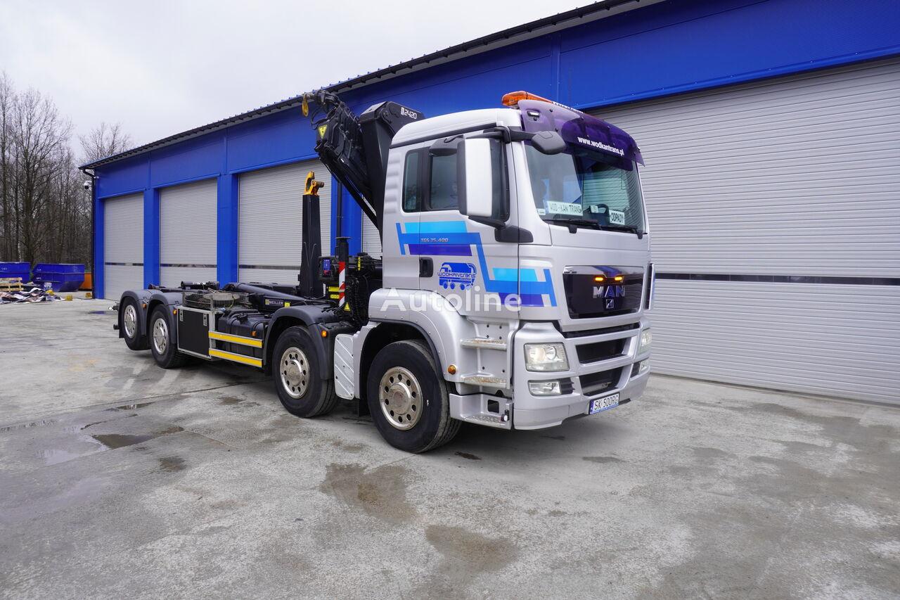 MAN TGS 35.400  hook lift truck