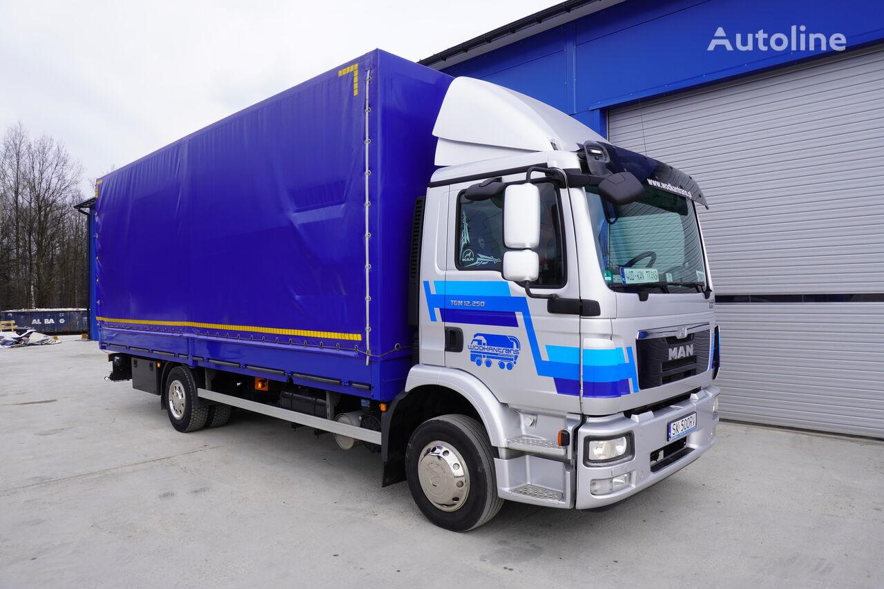 MAN TGM 12.250  tilt truck